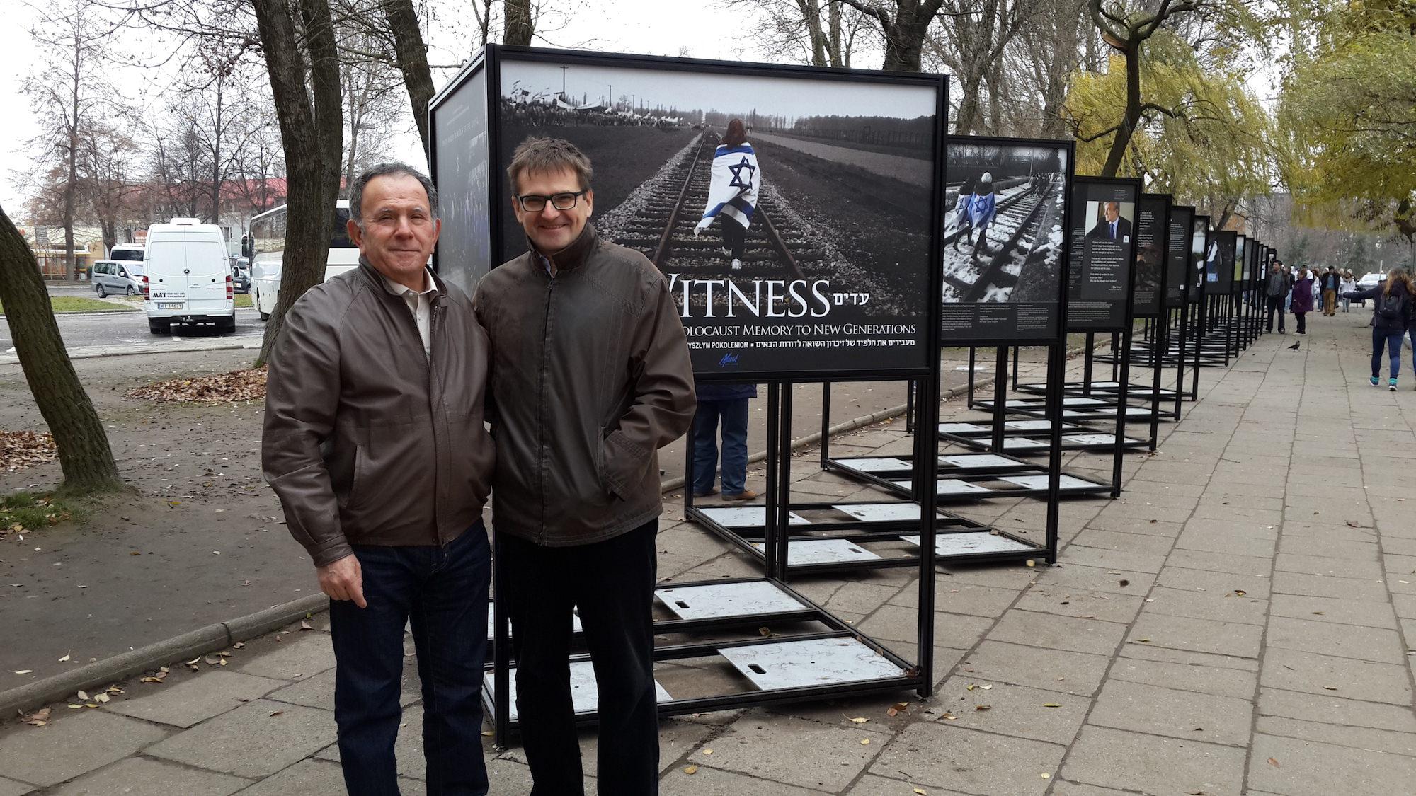 MOTL Exhibit at Auschwitz November 2015 1