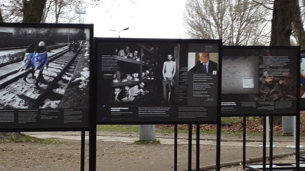 MOTL Exhibit at Auschwitz November 2015 2